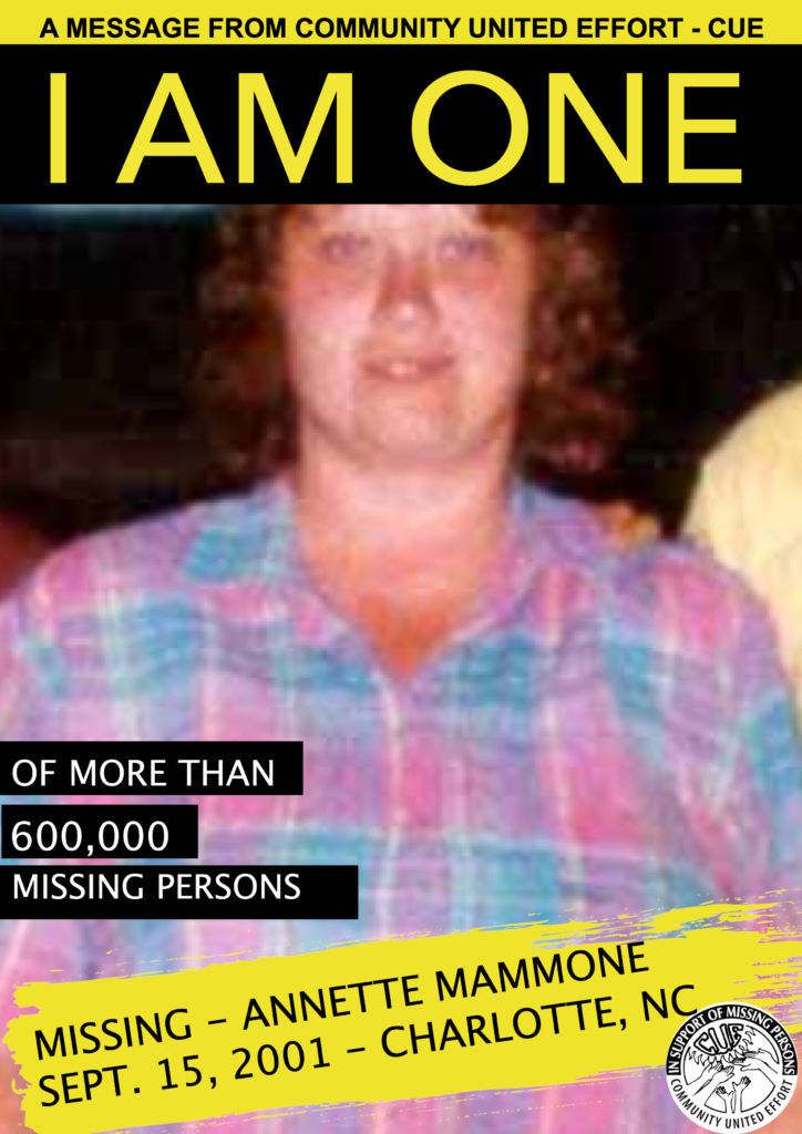 ANNETTE MAMMONE I AM ONE POSTER