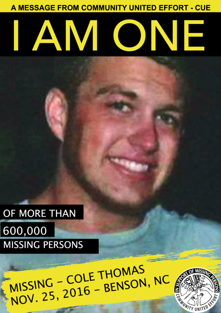 COLE THOMAS I AM ONE POSTER